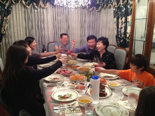 Korean Family Thanksgiving