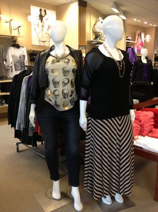 Lane Bryant modern day-to-night outfits