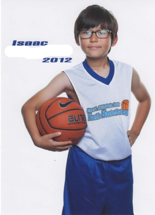 Isaac Basketball Portrait