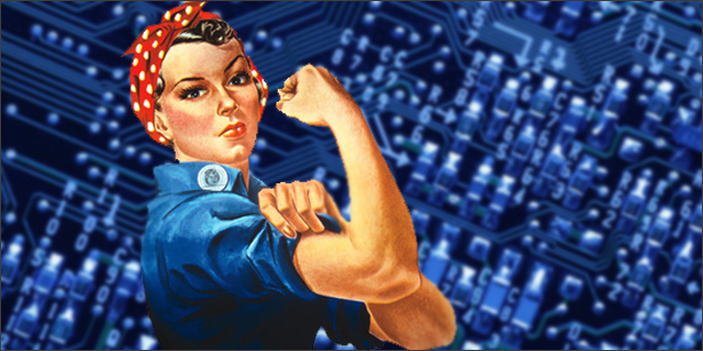 Women in Technology Rosie the Riveter