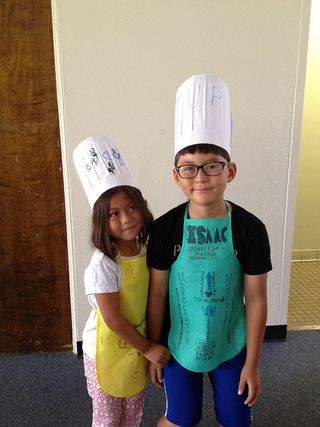 Isaac and Emi Chefs